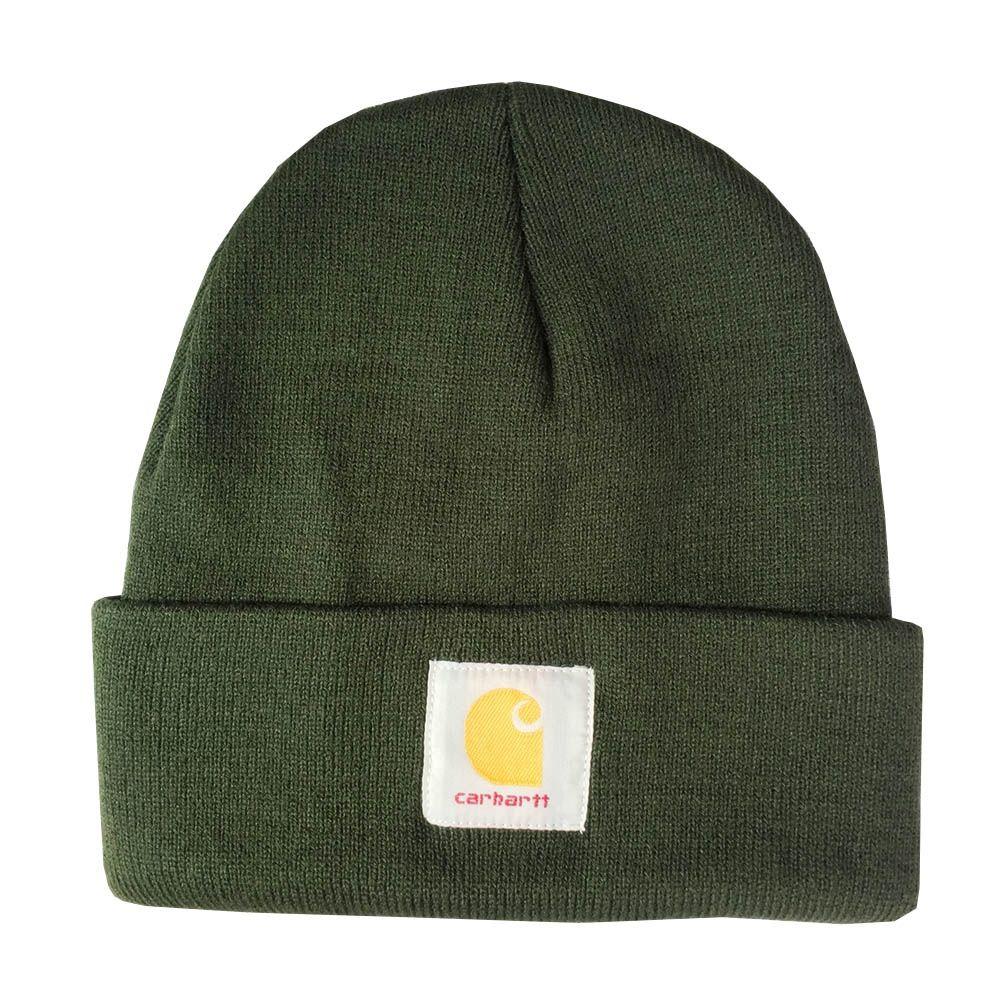 89212f5e380 Fashion Woolen Knit Cap Solid Color Hip-Hop Wool Hat Winter Outdoor ...