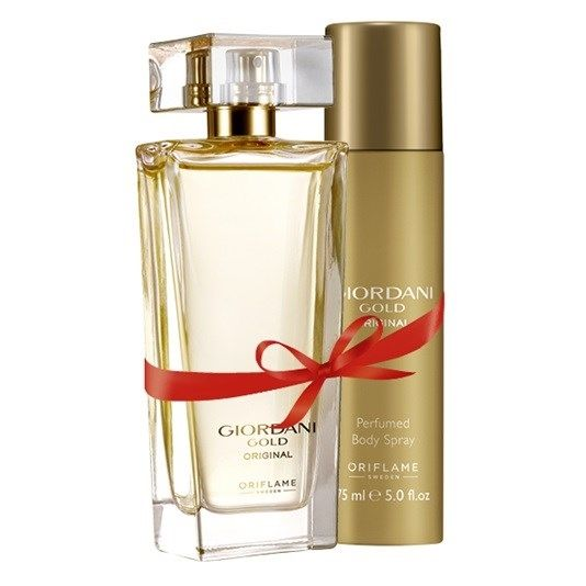 3091bdb78 سعر Oriflame Giordani Gold Original Eau De Parfum + Body Spray - set ...
