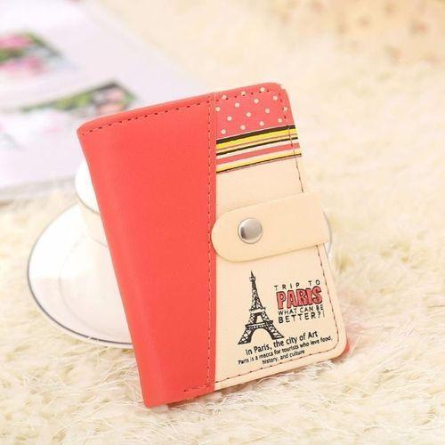 15fc1a078 Eissely Women Eiffel Tower Coin Purse Short Wallet Card Holders Handbag WR