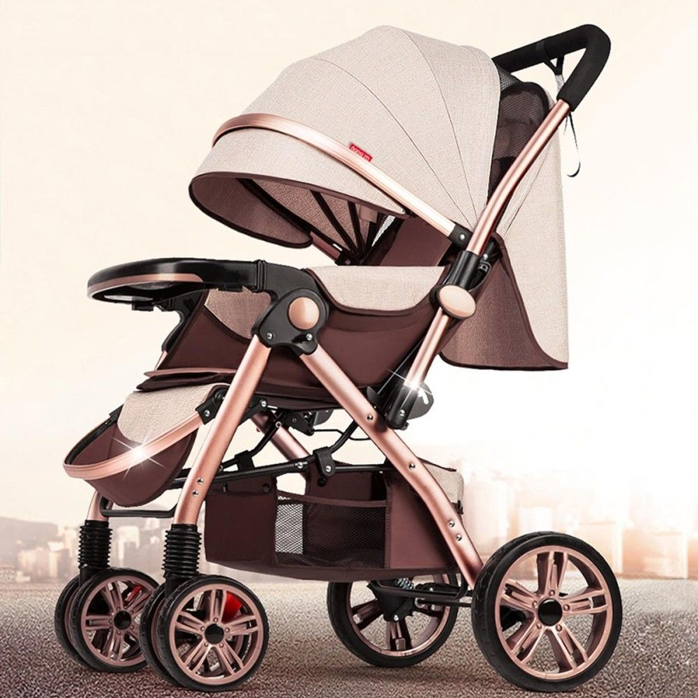Universal Newborn Carriage Baby Stroller Infant Travel Landscape