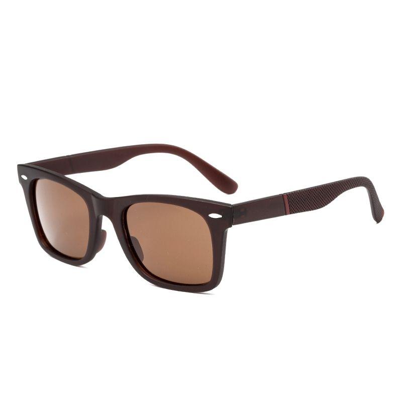 e76a552270 Fashion Pc Square Frame Polarized Sunglasses - Tea frame gradient ...