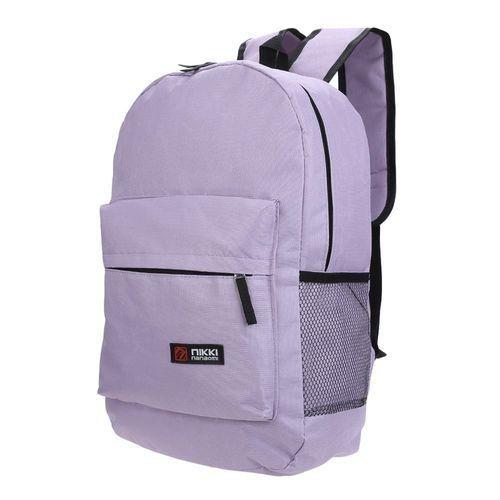 ede007f3c05e Guapabien Unisex Letter Ladder Portable Backpack - Light Purple ...