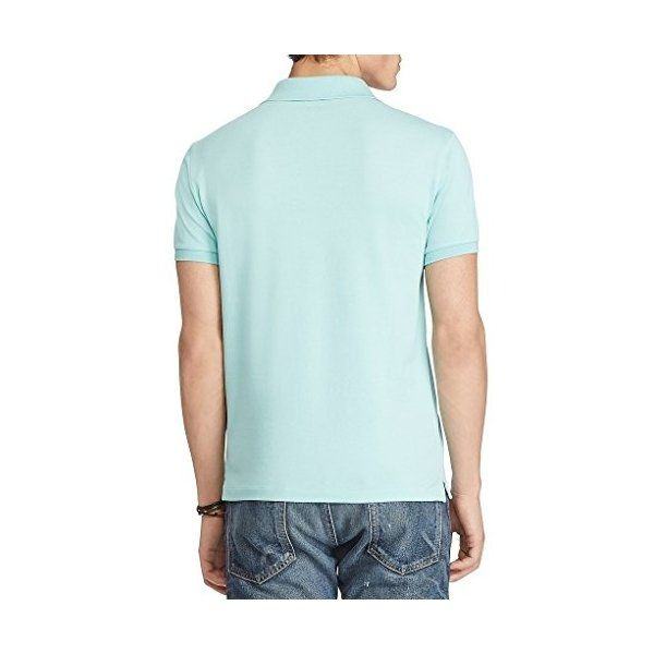 c67ac95cd US Polo Ralph Lauren Men s Classic-Fit Stretch Mesh Short-Sleeve ...