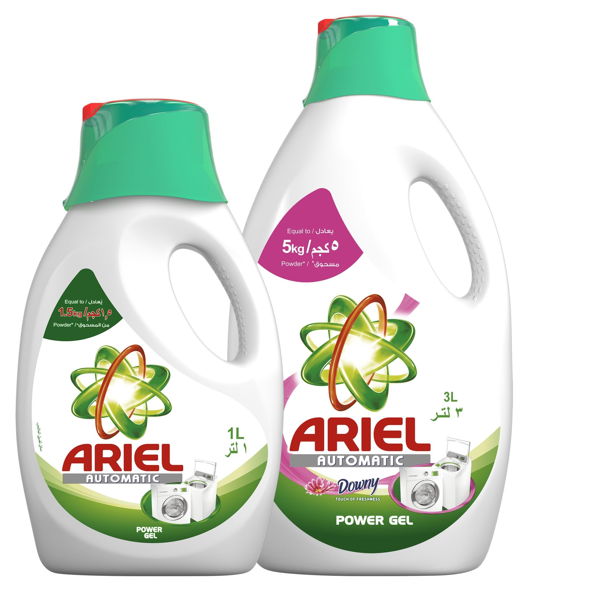 Ariel Washing Power Gel Touch Of Downy 3 L+1 L Price in