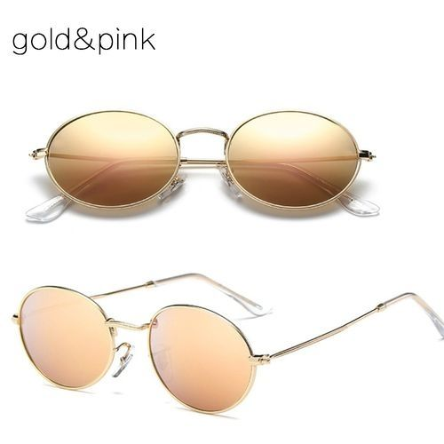 df28eff272f6 Buy Generic Retro Minimalistic Trend Oval Sunglasses Joker Fashion Male  Female Holiday Travel Accessories Eyewear(
