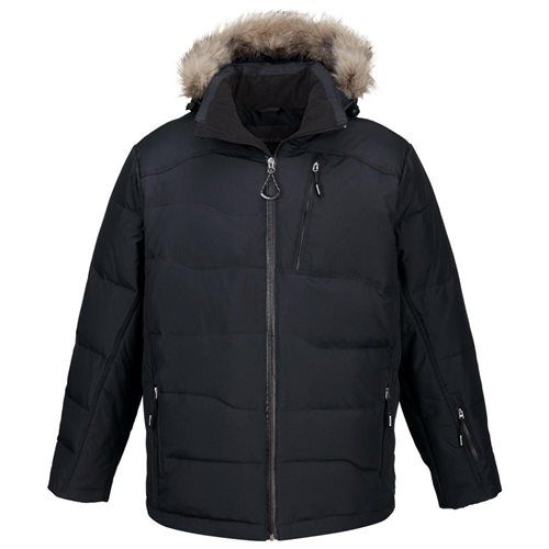 f281a8775 Walmart North End Mens Boreal Down with Faux Fur Trim Water ...