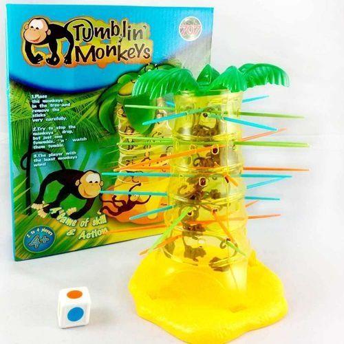 Universal Funny Tumblin Monkey Falling Game Interactive Board Game