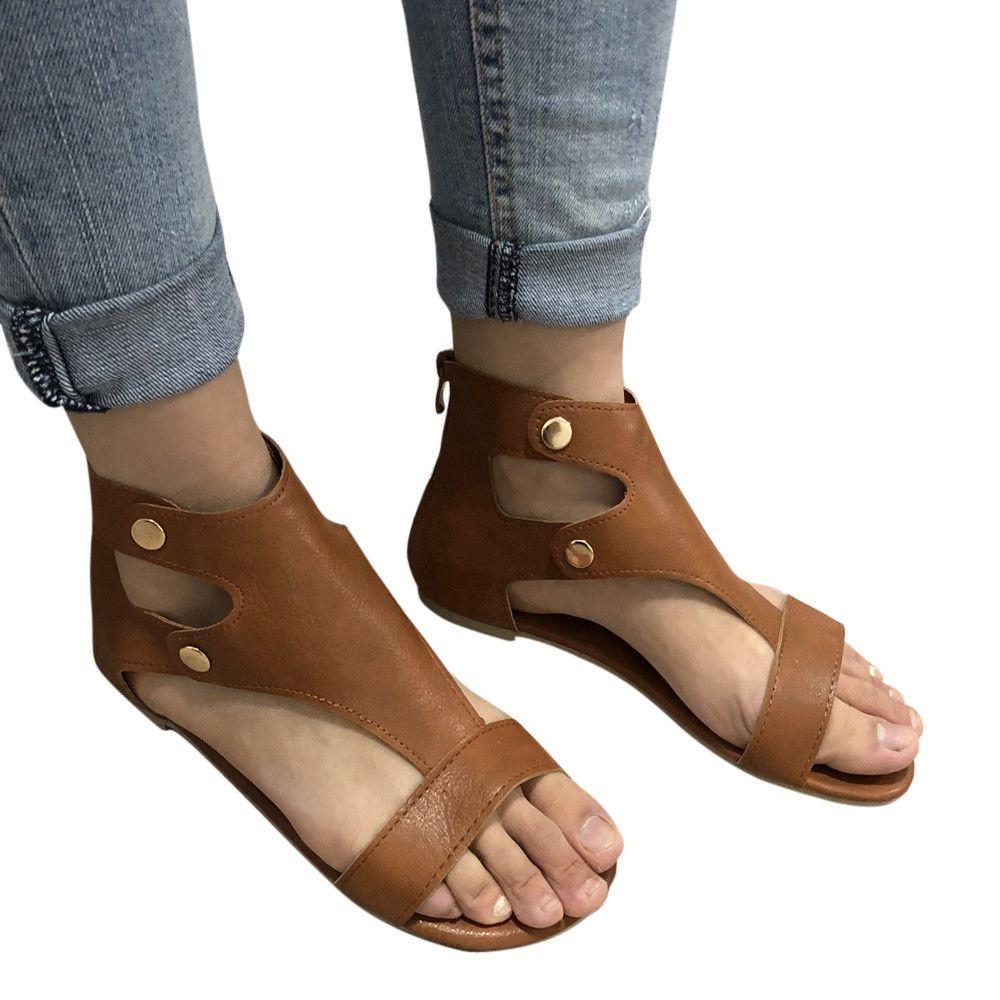 1d14169a1 Generic Tectores Fashion Trend Summer Ladies Women Sandals Fashion Flat  Roman Shoes Casual Shoes
