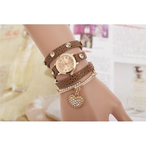 Generic Women's Fashion Bracelet Wrap Watch Daily Casual Watch