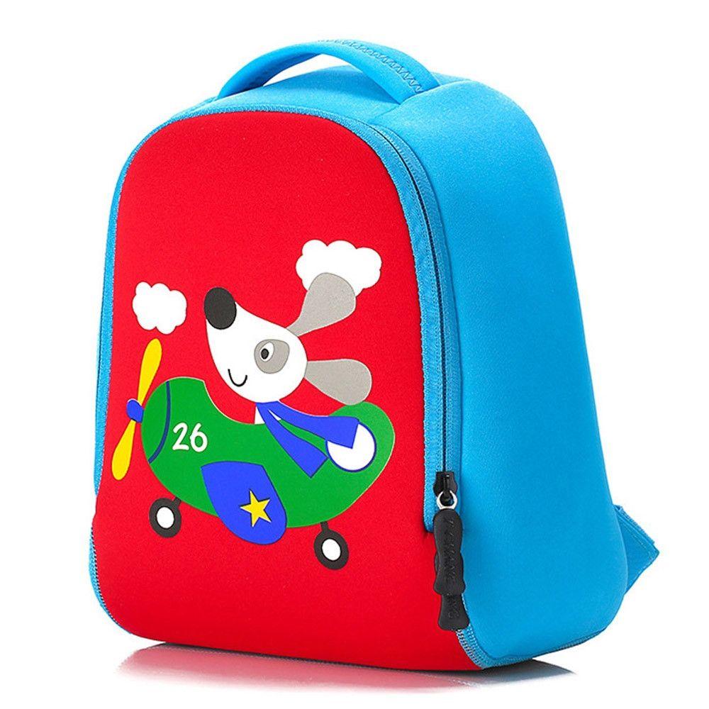 Neworldline Child Backpack Toddler Kid School Bags Kindergaten Cartoon  Shoulder Bookbags- Red 584162720b7a1