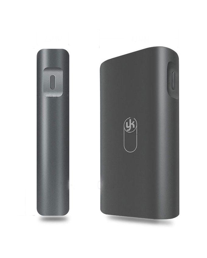 Joyroom YK YKP-005 8800mAh Portable Dual USB Port Power Bank with LED Flashlight - Black