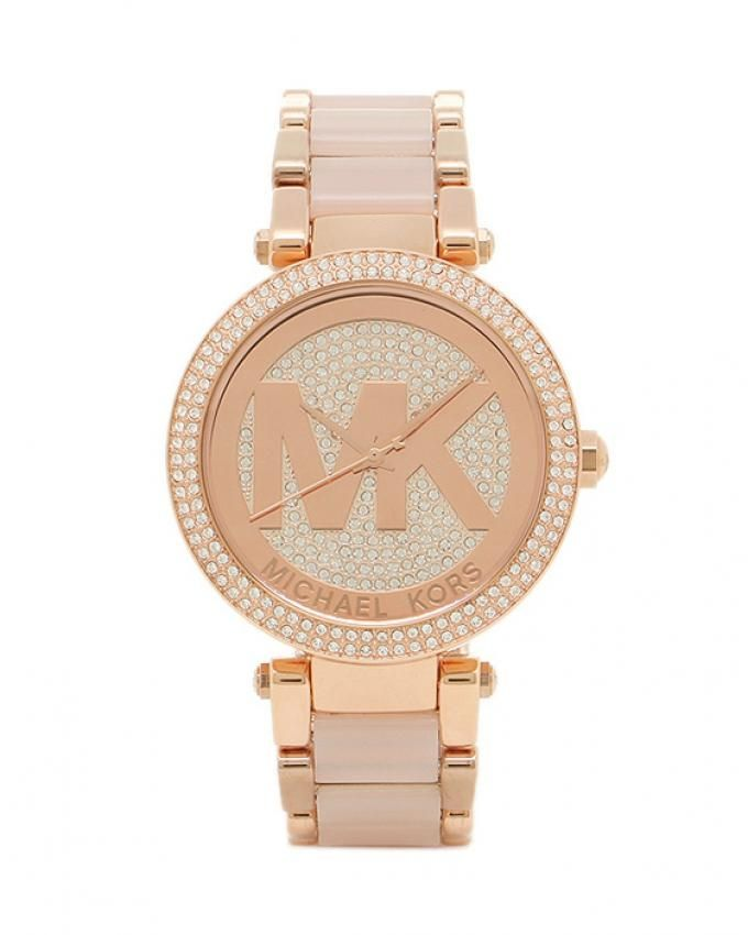 aa7df0955b4c Michael Kors MK6176 Stainless Steel Watch - For Women - Rose Gold. updating  Prices