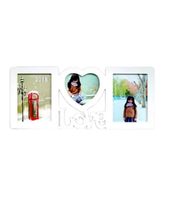 Sweet Love Photo Frame - White