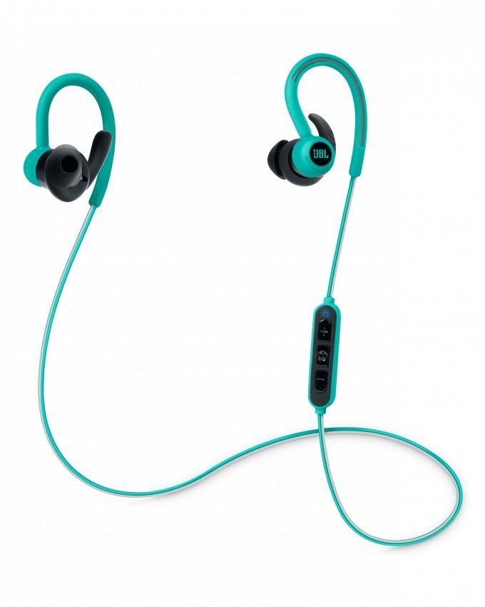 da4dbdba2ae JBL Reflect Contour - Secure Fit Wireless Sport Headphones - Teal ...