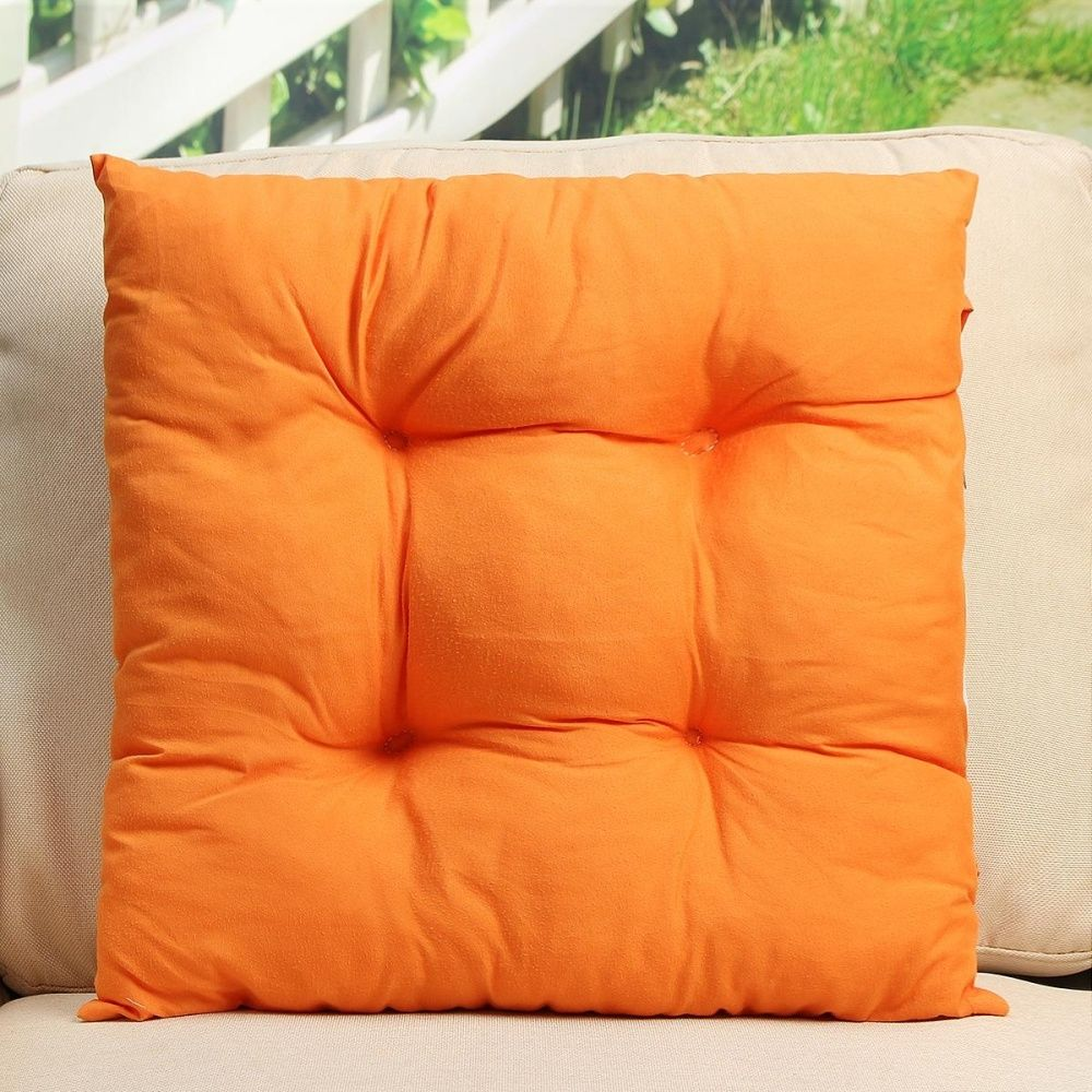 Universal Patio Chair Cushion Set Seat Dog Cat Pads Garden Outdoor Furniture Soft Pillow Orange & Universal Patio Chair Cushion Set Seat Dog Cat Pads Garden Outdoor ...
