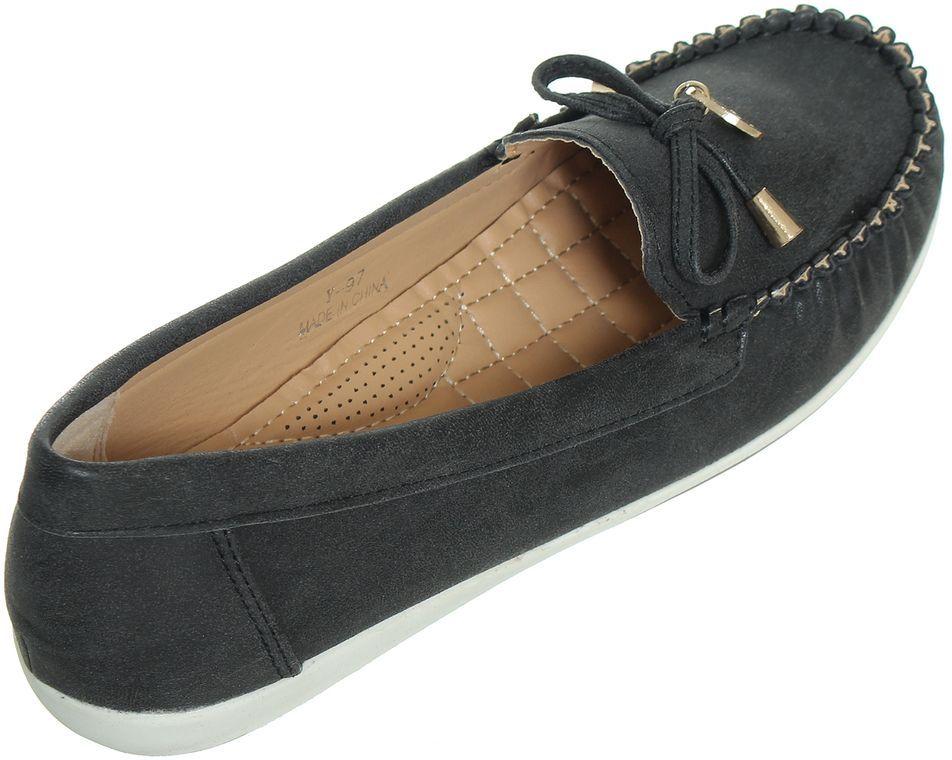 Generic Flat Moccasin - Black
