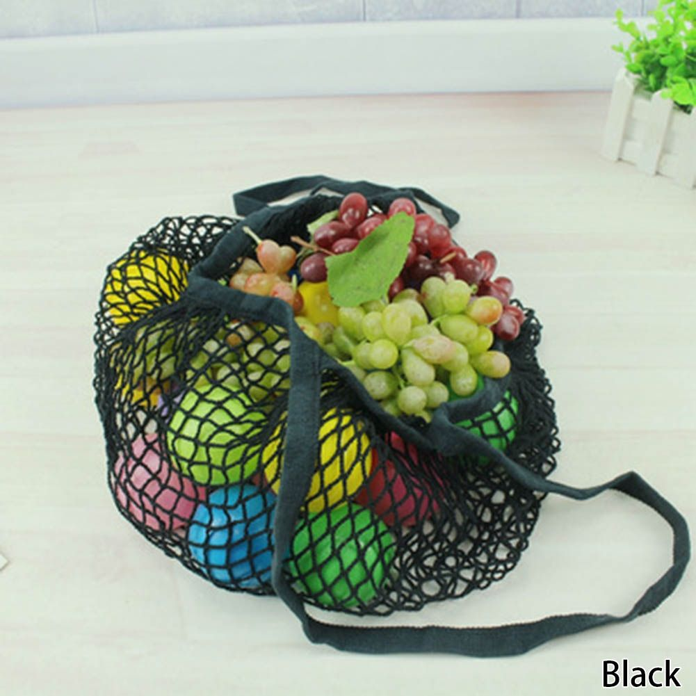 219d64d28a8 Fashion Mesh Net Turtle Bag String Shopping Bag Reusable Fruit ...