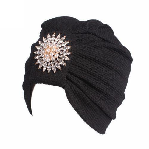 Allwin Russian Lady Rabbit Fur Knitted Cap Women Winter Warm Beanie ... 42642e6af4fc