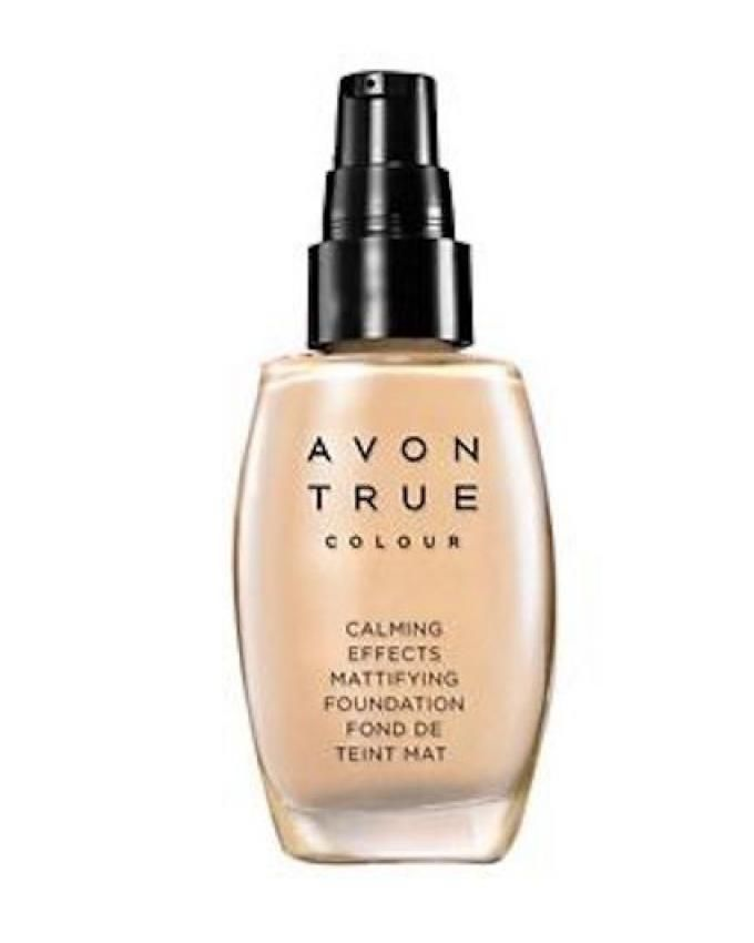 Avon True Colour Calming Effects Mattifying Foundation Almond