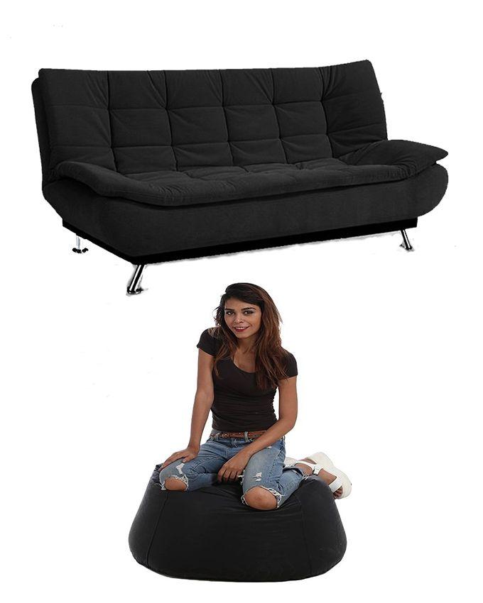 Art Home Sofa Bed Pvc Bean Bag Black Buy Online Jumia Egypt