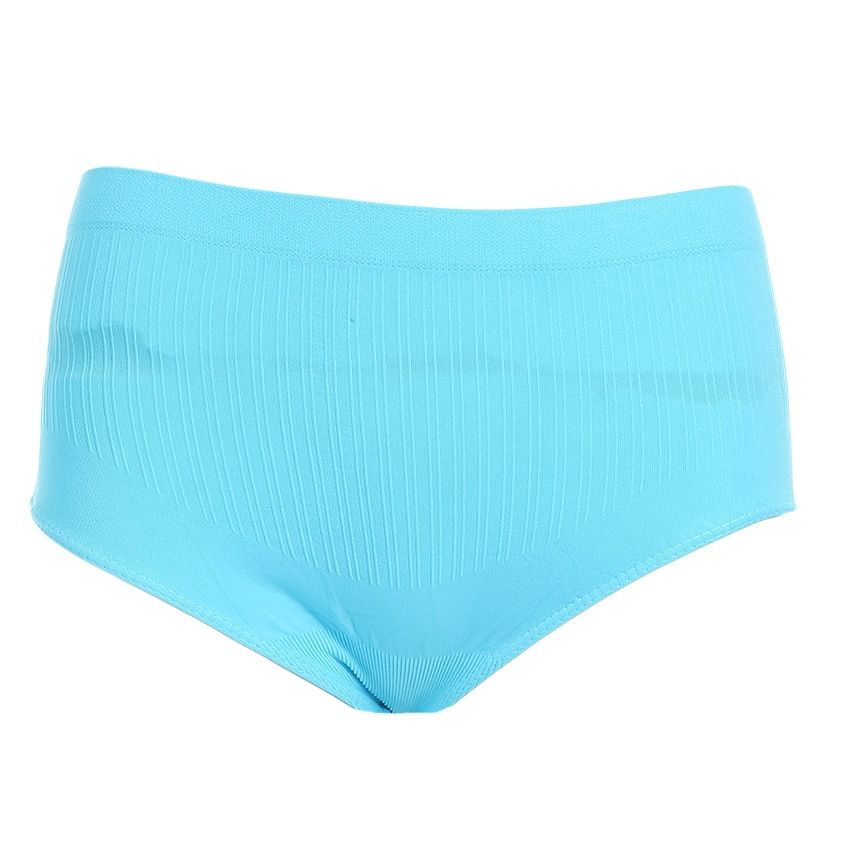 carina Cotton Slip On Solid Underwear - Blue  01c685195
