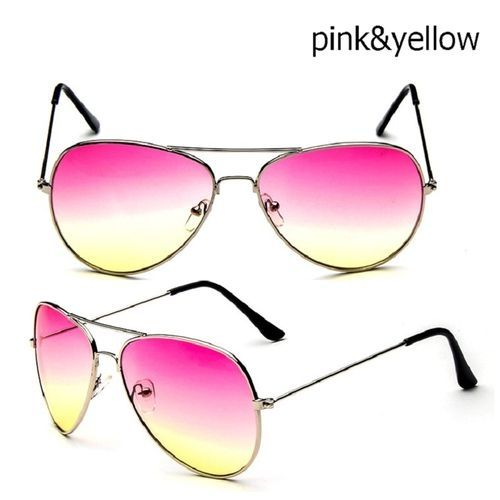 059313b936ca Buy Generic Women Men Outdoor UV400 Protection Sunglasses Summer Female  Male Aviator Glasses Metal Unisex Eyewear