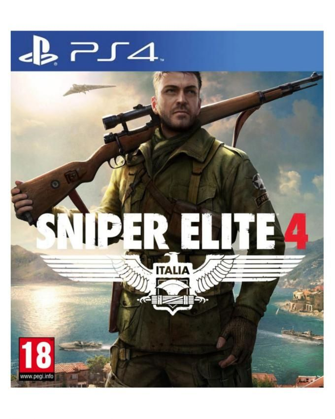 Rebellion Sniper Elite 4 - PlayStation 4