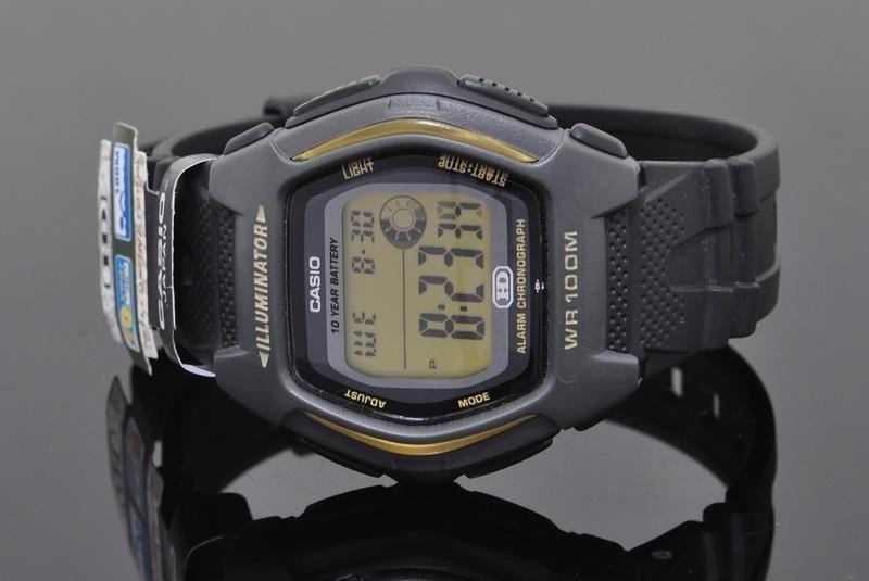 2276bbc4e19e0 Casio HDD-600G-9AVDF ساعة من البلاستيك المطاط - أسود. 660.00. جنية مصرى