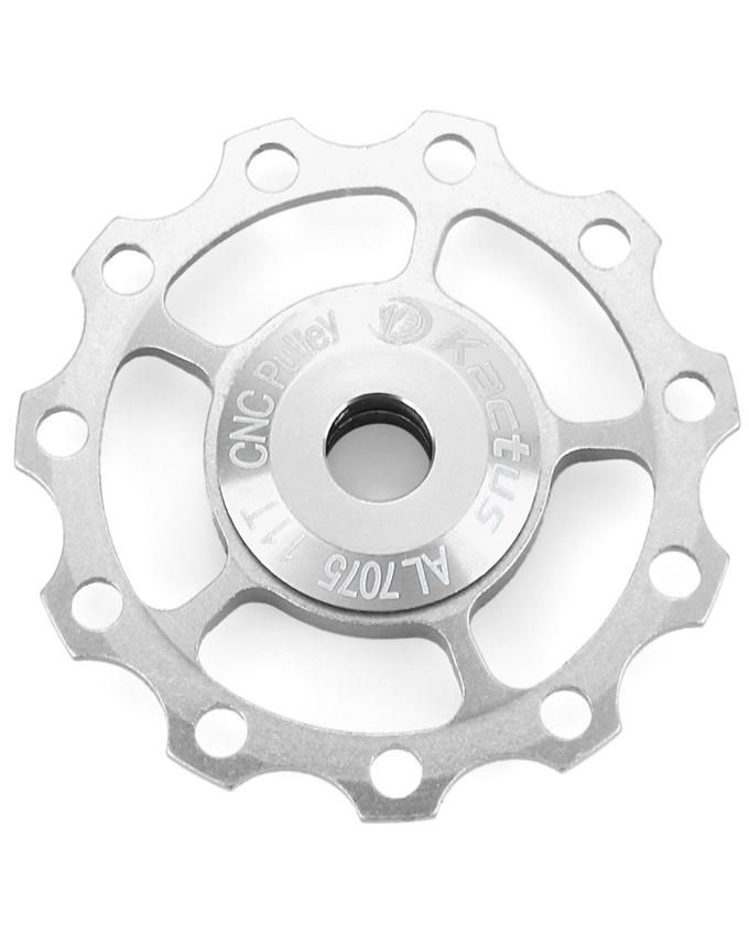 Kactus Jockey Wheel Rear Derailleur Pulley For SHIMANO SRAM/7/8/9/10 Speed - Silver