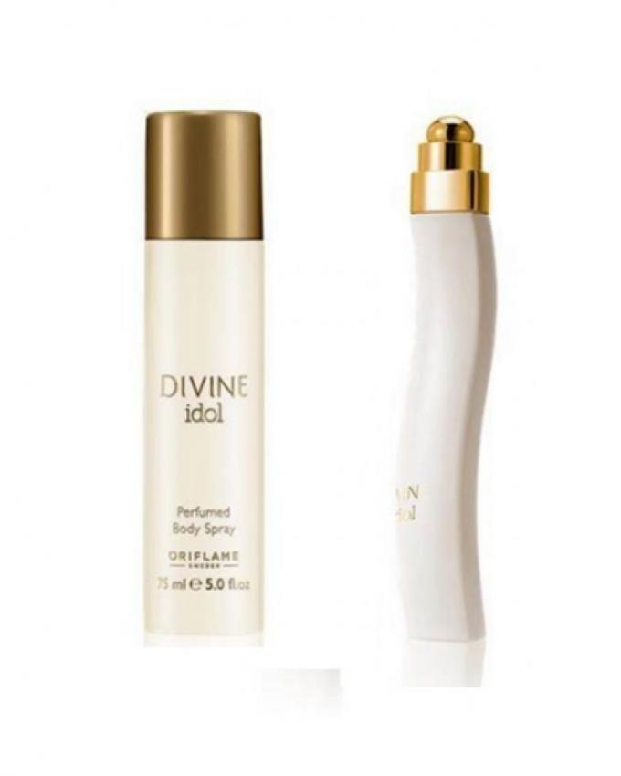 Oriflame Divine Idol - EDP - For Women - 50ml + Body Spray -75 ml