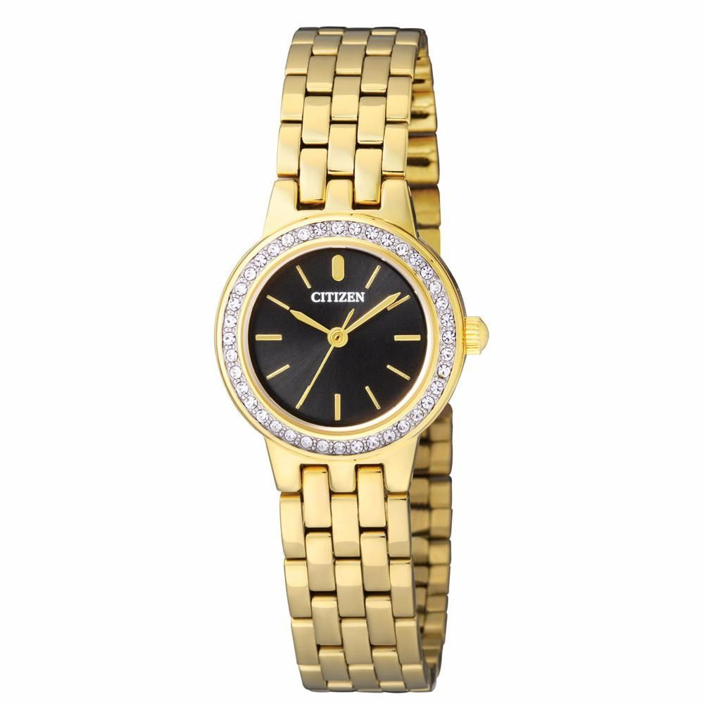 Citizen Ej6103 53e Stainless Steel Watch For Women Gold Ca4280