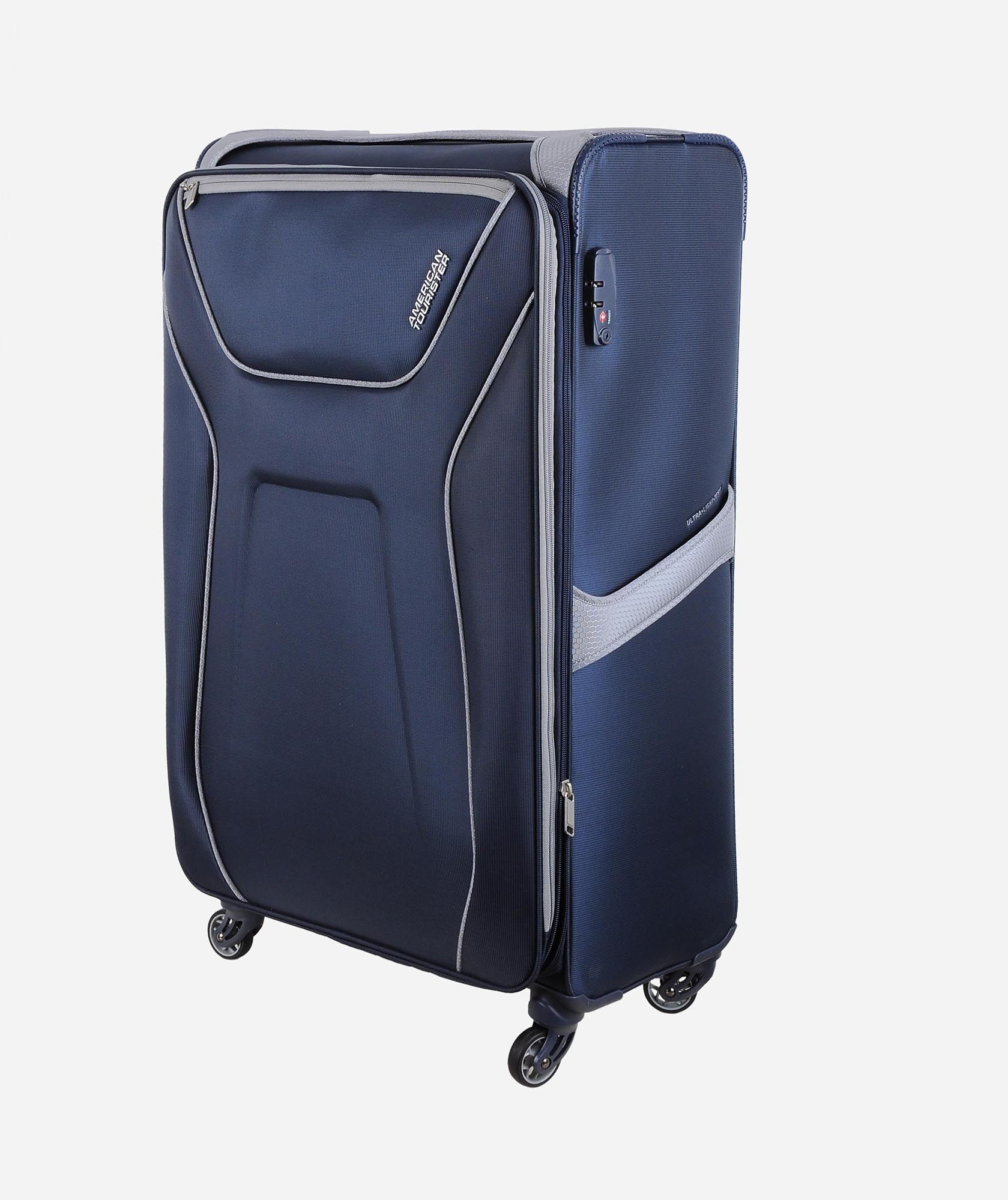 Buy American Tourister AIR SHIELD spinner navy 82CM in Egypt bdf9372a37e66