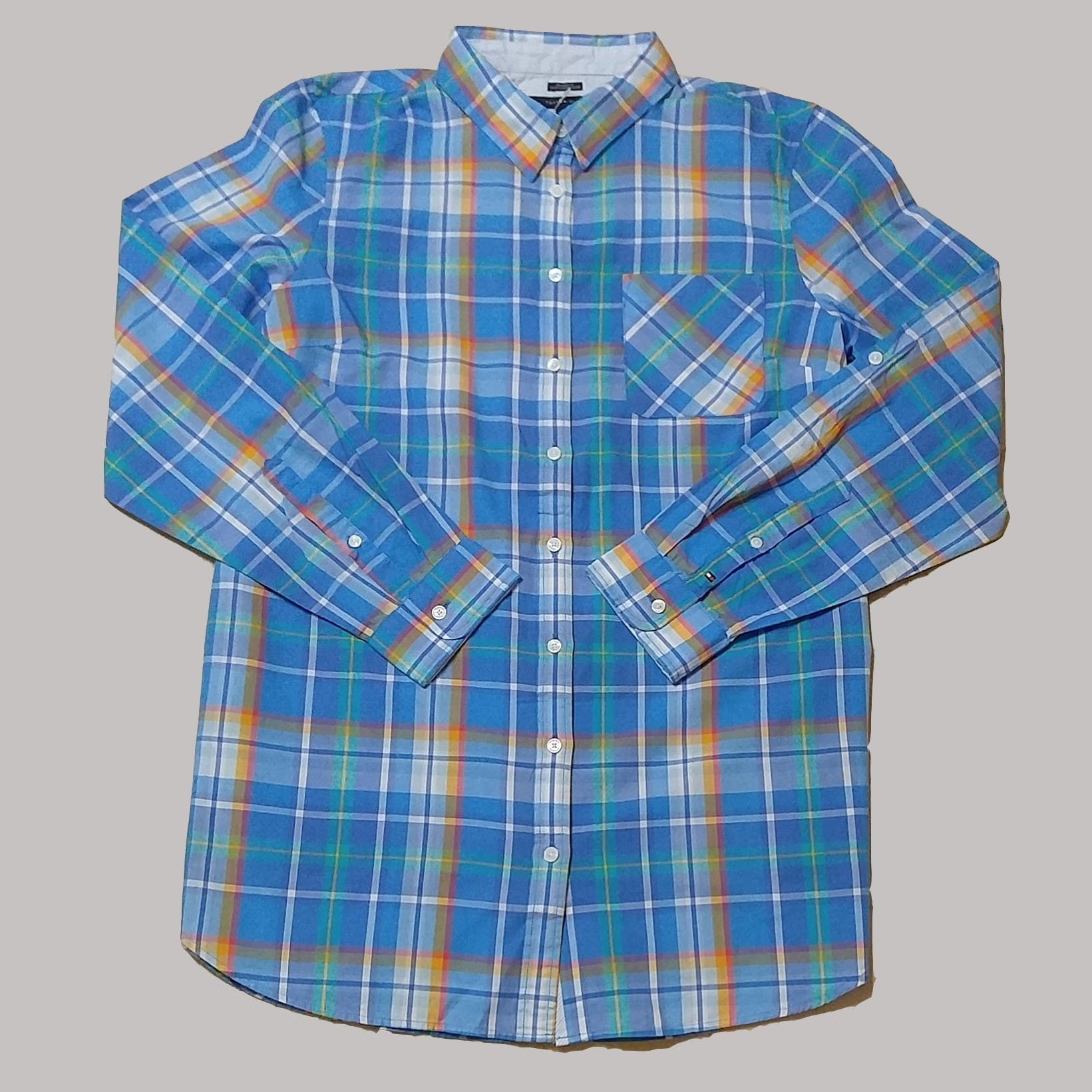 45600cfbaf58e Womens Blue And White Plaid Shirts - Cotswold Hire