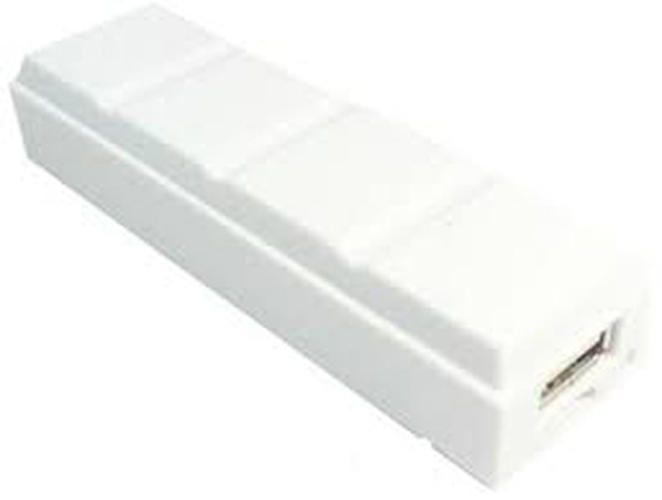 intercon Chocolate - 2600mAh Power Bank - White