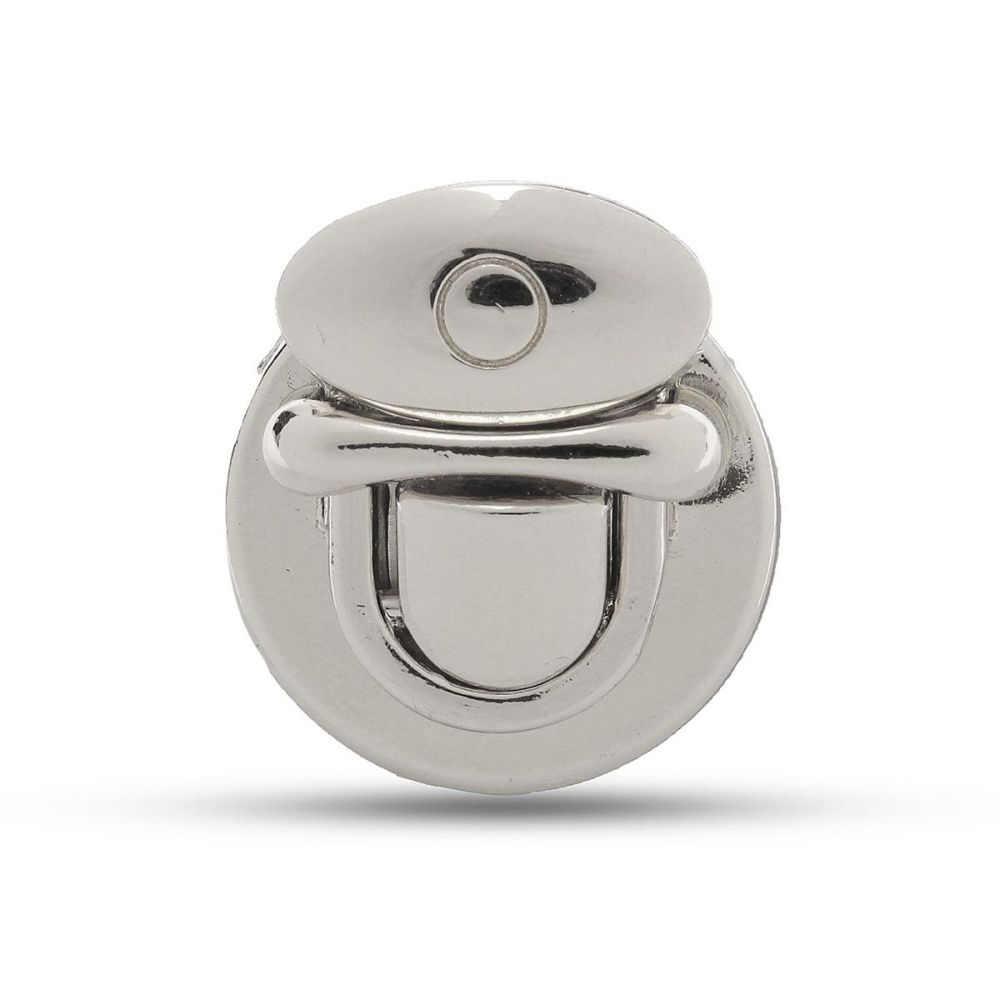 Luggage & Bags Round Shape Metal Clasp Turn Lock Twist Lock Hardware For Diy Handbag Bag Purse