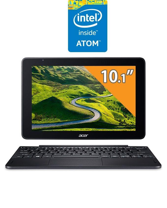 "Acer One 10 S1003 Laptop - Intel Celeron - 2GB RAM - 32GB SSD - Intel GPU - 10.1"" Touch - Windows 10 - Black"