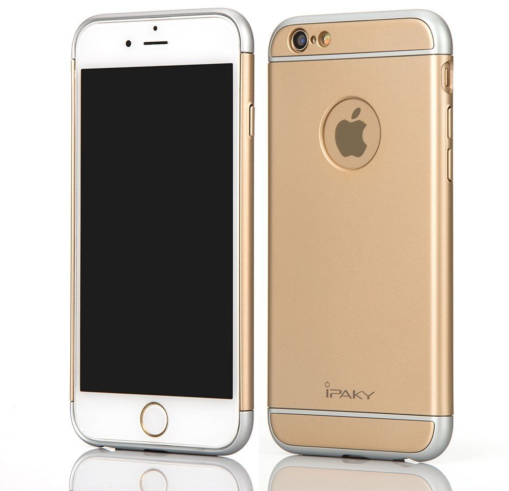 cd42a46de8a3ed I Paky Iphone 6&6S Plus - Ipaky 3-In-1 Pc Hard Case Cover – Gold ...