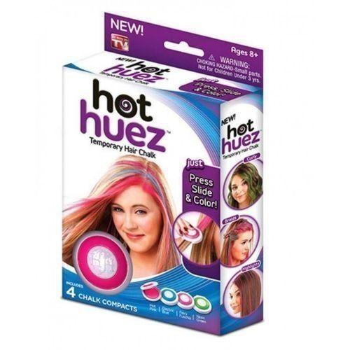 Generic Hot Huez Temporary Hair Chalk - 4 PCS