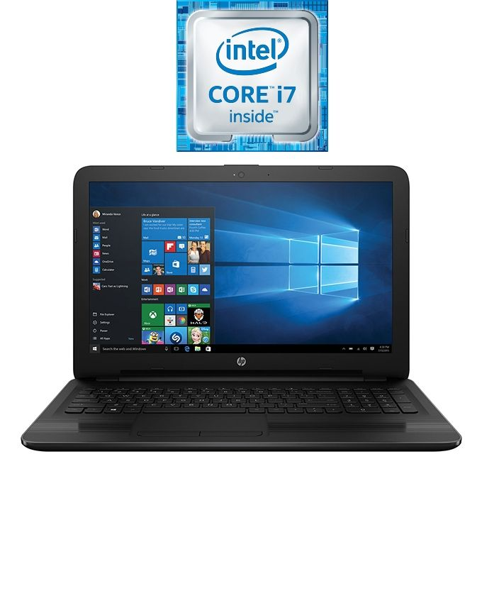 "HP 15-ay022ne Laptop - Intel Core i7 - 4GB RAM - 1TB HDD - 15.6"" FHD - 2GB GPU - DOS - Jack Black"