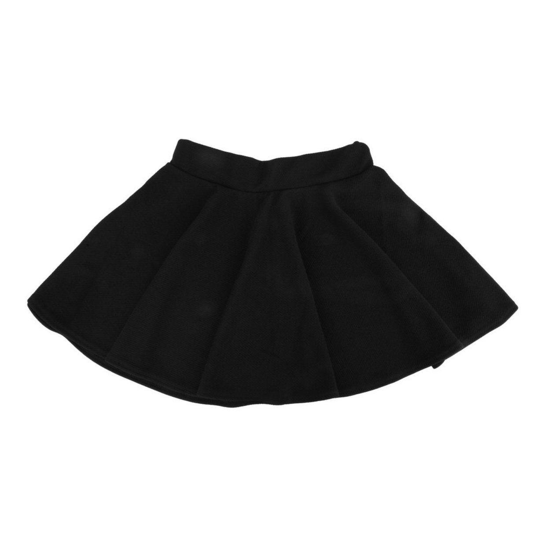 6603c938c Buy Fashion Fashion Unique Women s Stretch Waist Plain Skater Flared  Pleated Mini Skirt in Egypt