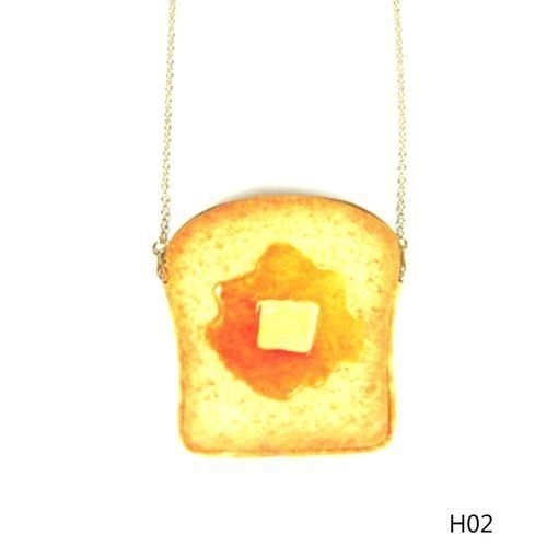 e93502c2c90c Fashion Tanson Women S Fashion Korea Purse Egg Toast Bread 3D ...