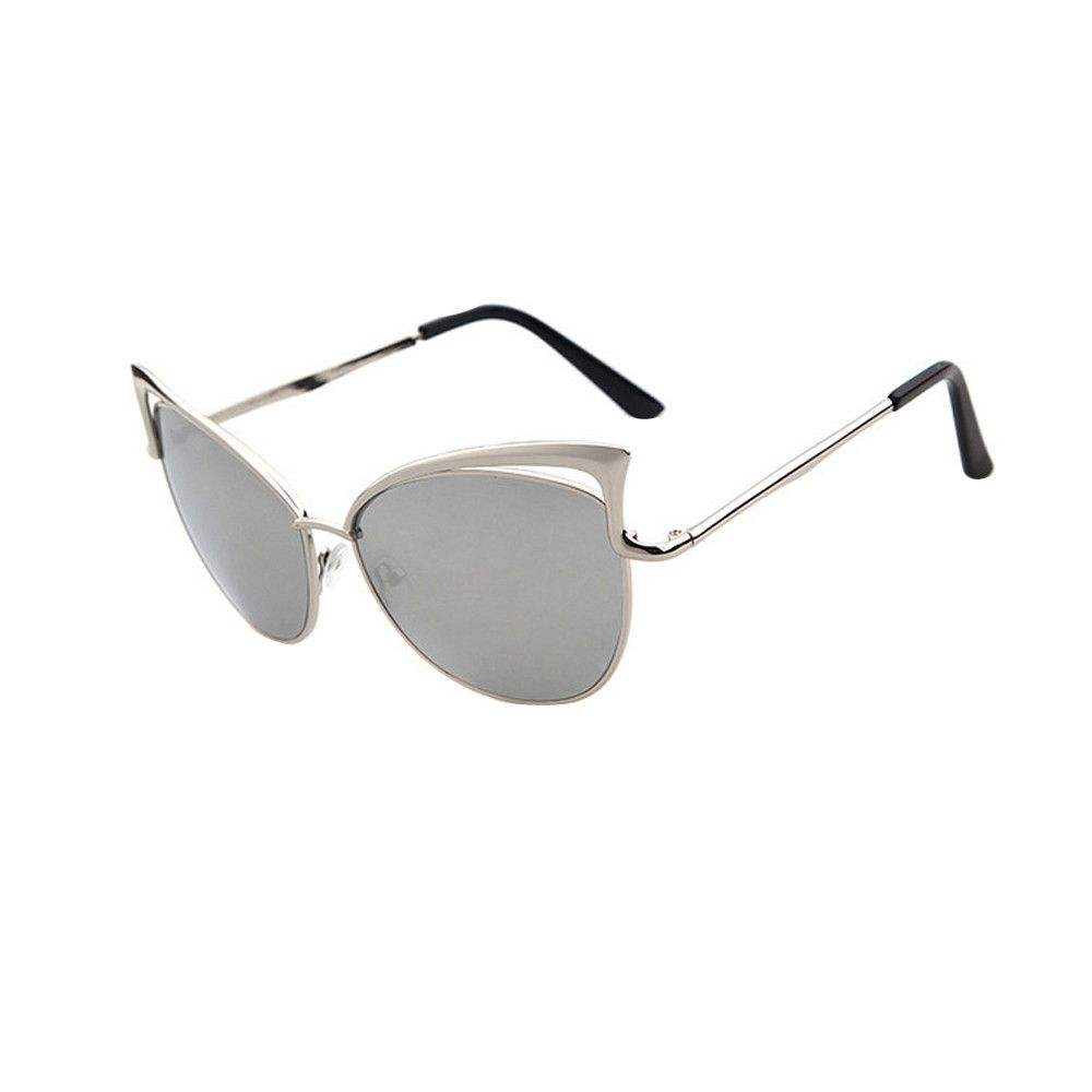 296226c05c68 Generic Tectores Men Women Clear Lens Glasses Metal Spectacle Frame ...