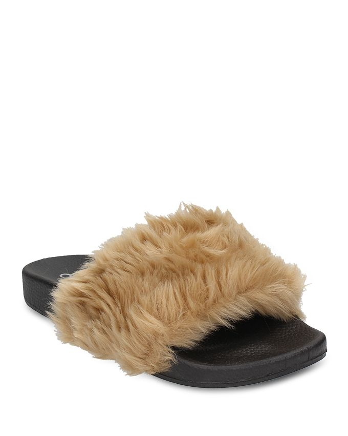 94857cfa0dcb Dejavu Fur Slipper. updating Prices