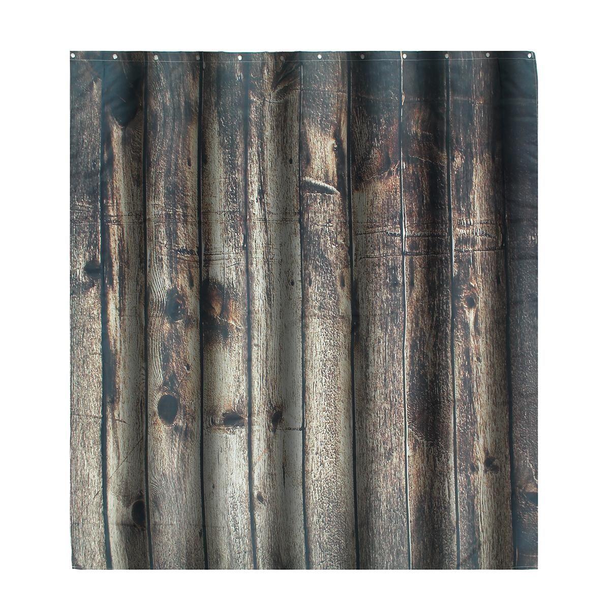 سعر Generic Fashion Vintage Wood Texture Waterproof Fabric