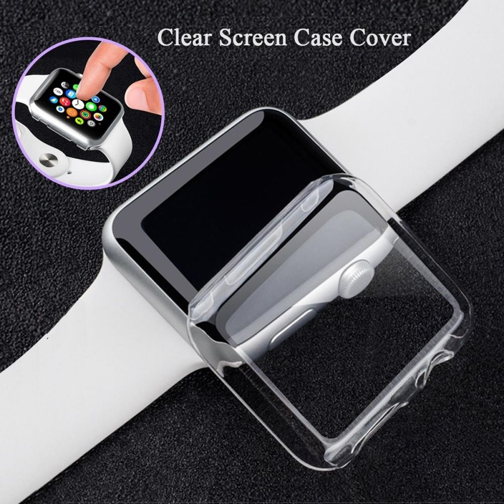 55c99bff1 Fashion Clear Slim Thin Hard Transparent Case Cover Screen Protector For Apple  Watch 2 38mm. 18.00. جنية مصرى