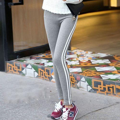 cf4e1663a Fashion Women Fashion Stripe Training Sports Yoga Pants Leggings ...