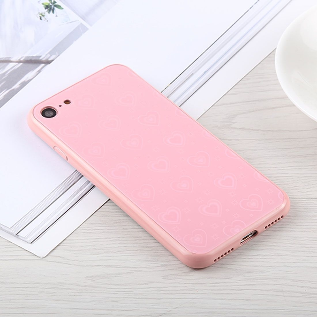 Speeed Hd Ultra Thin Glass Screen Protector For Blackberry Z30 Tempered Premium 9h Untuk Lenovo A7000clear Universal Fashion Heart Pattern Anti Scratch Gradient Color Protection Case Iphone 8 7 Pink