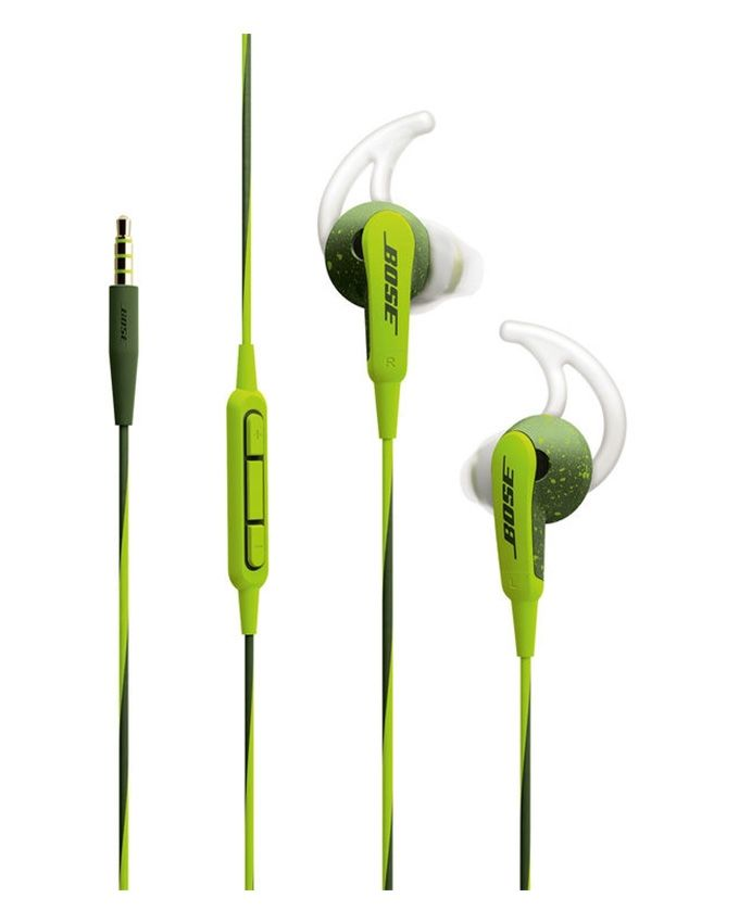 8bffcac4eb2 Bose SoundSport In-Ear Headphones - Apple Devices - Energy Green ...