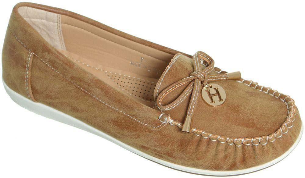 Generic Flat Moccasin - Brown