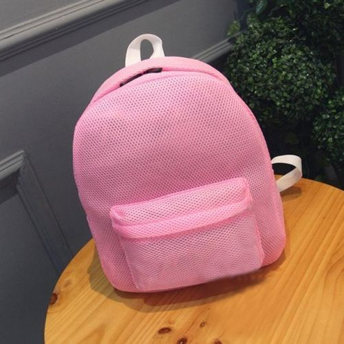 3eb0ef0df6f7 Buy Generic Back To School! Fascinating Summer Women Girls Net Yarn Grid  Shoulder Backpack Bag